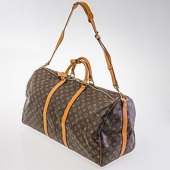 LOUIS VUITTON Keepall Bandouliere 60 WEEKEND BAG.