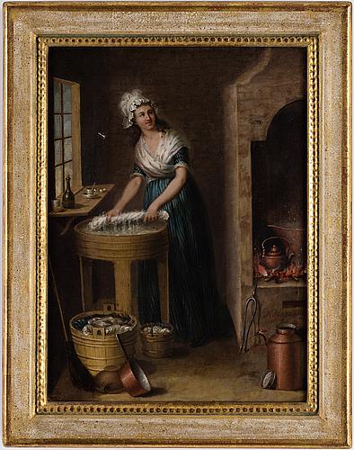 Nilshagelberg, olja på duk, signerad.