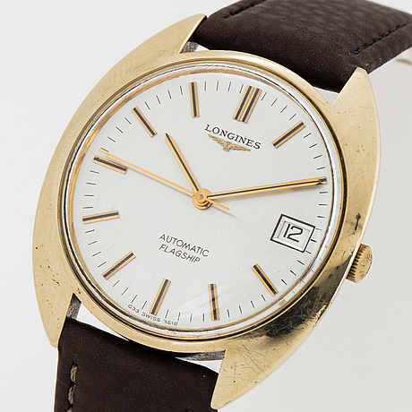 Longines, flagship, wristwatch 35.5 mm.