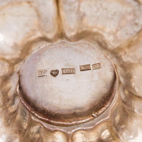 Kaffeservis 3 delar, silver