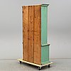 A painted pine cabinet, 19th century