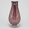 Edward hald, a glass 'graal' vase, signed