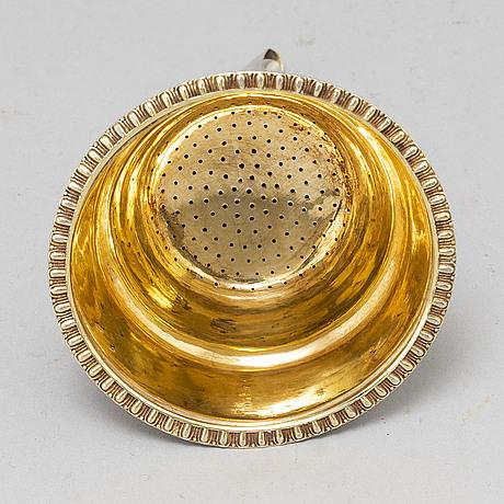 Gustaf folcker, vinsil, silver, stockholm 1831.