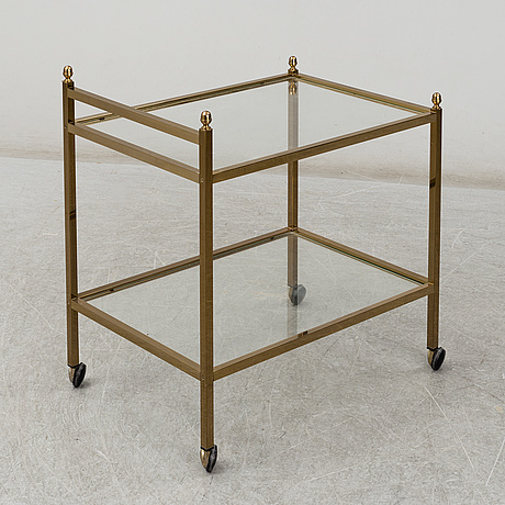Serving trolley, second half of the 20th century