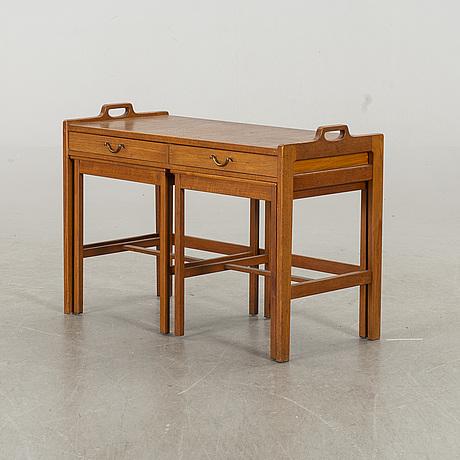 Gunnar myrstrand & sven engstrÖm, satsbord, ur ideal serien, ab skaraborgs möbelindustri, tibro, formgiven 1951