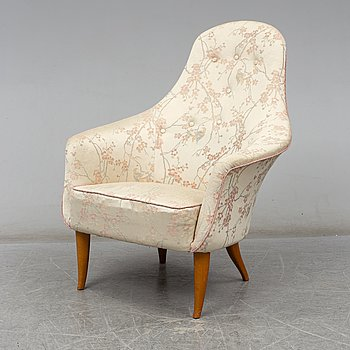KERSTIN HÖRLIN-HOLMQUIST, a 'Stora Adam' easy chair from 'Paradiset', Triva, Nordiska Kompaniet.