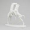 Robert ullman, skulptur, porslin, augarten, wien