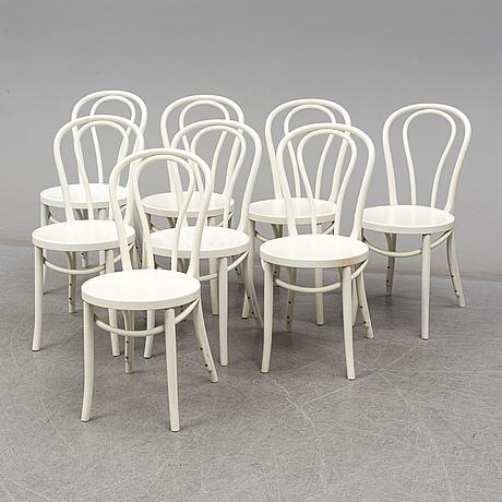 Eight 'Öglan' chairs from ikea