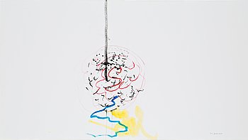 "515. Rune Jansson, ""Water Reflection""."