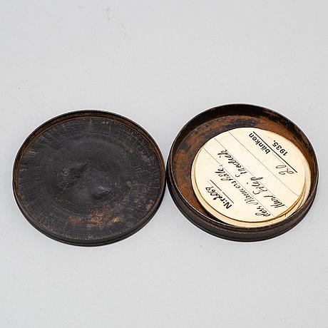 Box, cast iron, probably berlin around 1820