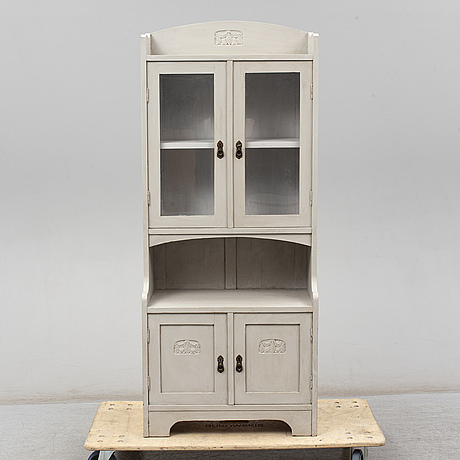 An early 20th century display cabinet