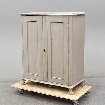 A late 19th Century cupboard..