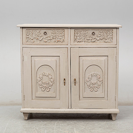 A late 19th century cupboard