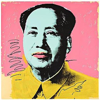 """368. Andy Warhol, """"Mao""""."""