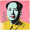 "Andy warhol, ""mao""."
