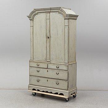 A Rococo cabinet.