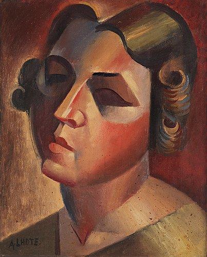 """André lhote, """"portrait de marguerite""""."""