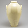Vicke lindstrand, a large earthenware vase,