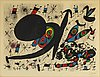 Joan mirÓ, lithograph in colours, 1971, signed in pencil and numbered 20/75.