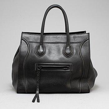 CÉLINE, a 'Phantom' leather handbag.