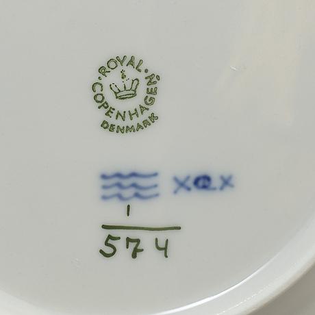 Royal copenhagen, a 30-piece porcelain coffee service, denmark.