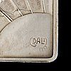 Salvador dalÍ, silver reliefs depicting the seven days of the creation