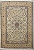 A carpet, nain, part silk, sk 9 laa, ca 363 cx 250 cm.