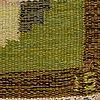 Ingegerd silow, a carpet, flat weave, ca 201 x 136 cm, signed is