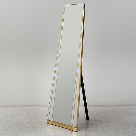 Floormirror, later part of the 20th century