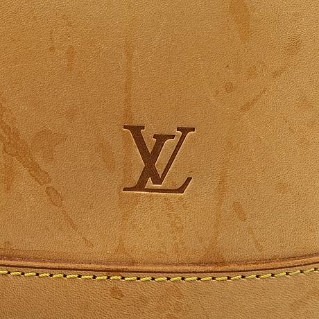 Louis vuitton, a japan 20th anniversary full vachetta bucket pm
