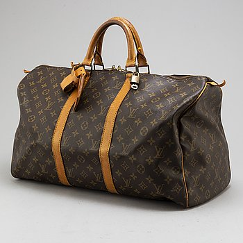 LOUIS VUITTON, weekendbag, 'Keepall 50'.