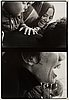 Walter hirsch, gelatinsilverfotografier, 2 st, signerade walter hirsch med blyerts à tergo