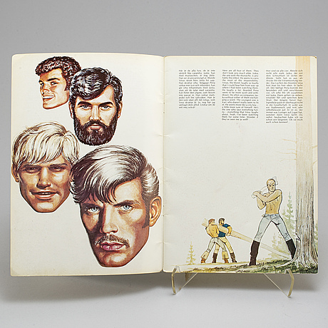 Tom of finland, five magazines.