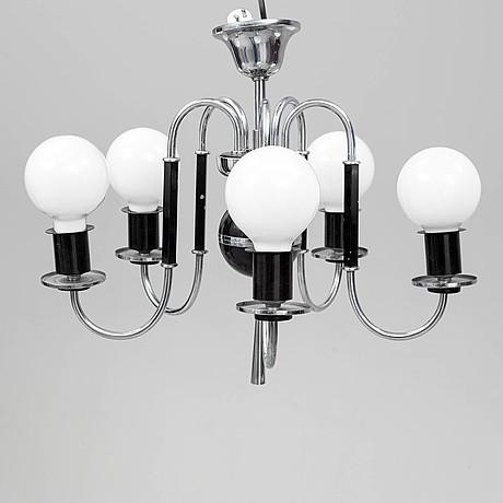 A 1930's ceiling light
