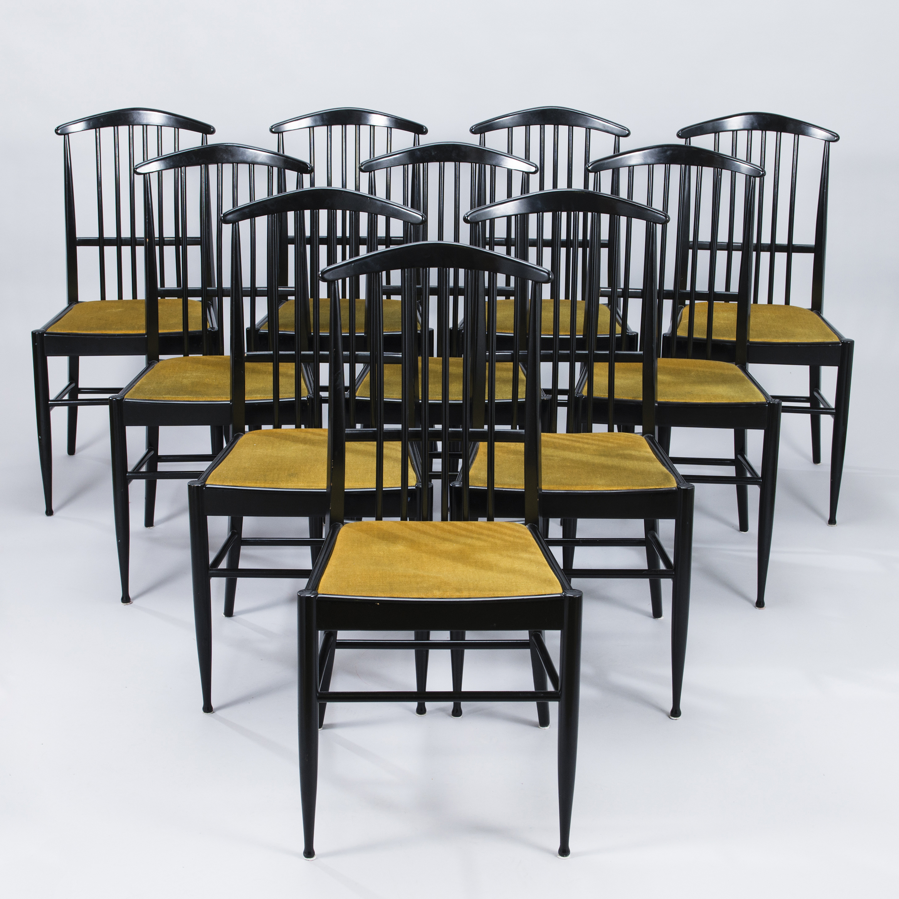 Pleasant Kerstin Horlin Holmquist A Set Of Ten Charlotte Chairs With Cjindustries Chair Design For Home Cjindustriesco