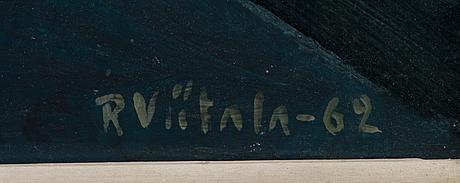 Raimo viitala, olja på duk, signerad och daterad  62