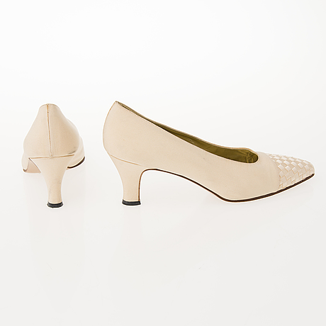 Three pairs of designer shoes in app. size 39
