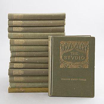 THE STUDIO, 14 vol, 1900-talets början.
