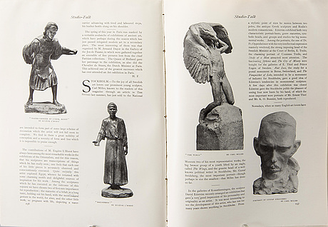 The studio, 14 vol, early 20th century