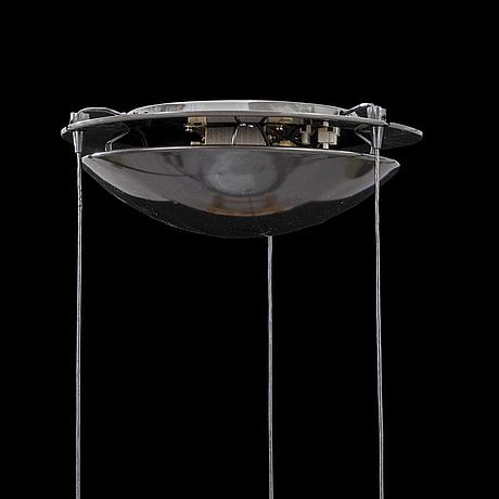 Perry king & santiago miranda aurora suspension lamp for arteluce, 1980s.