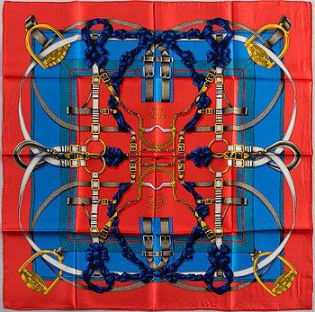 "HERMÈS, scarf, ""Grand Manège""."