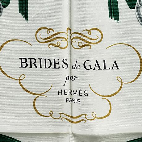 HermÈs, scarf, 'brides de gala'
