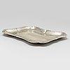 Brendt erlandsson, a silver tray, kristianstad, 1912