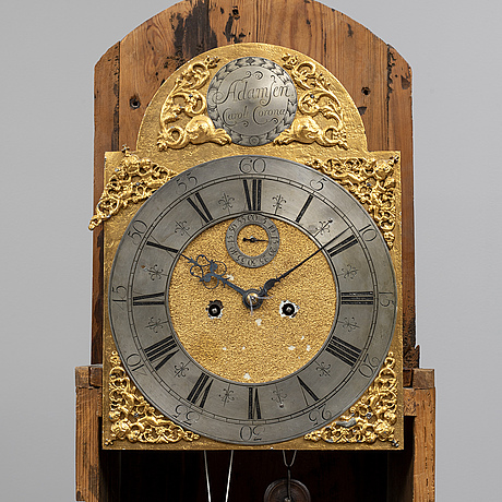 Longcase clock, second half of the 18th century.