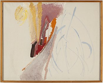 EDDIE FIGGE, oil on canvas, signed on verso and dated 1952.