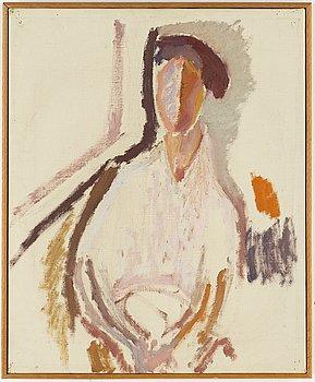 EDDIE FIGGE, olja på duk, signerad och daterad 1950.
