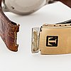 Tissot, pointer date, wristwatch, 35 mm.