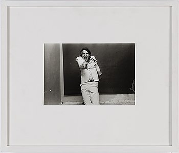 NORMAN SEEFF, gelatin silver print, signed on verso.
