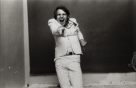 Norman seeff, silvergelatin fotografi, signerat a tergo.
