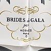 """HermÈs, scarf, """"brides de gala"""""""